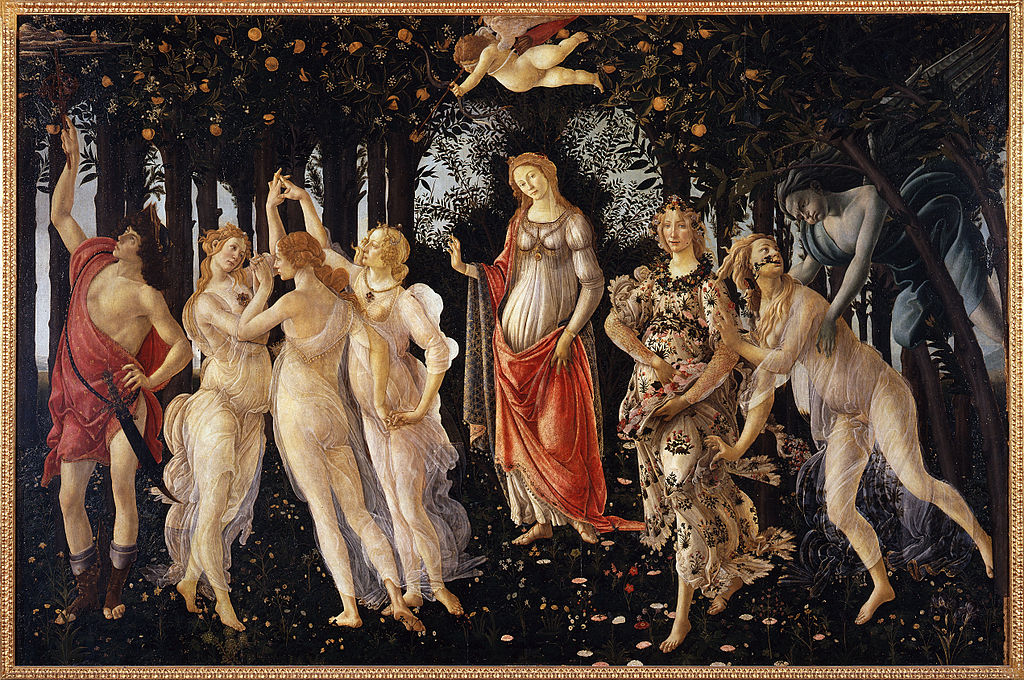 Sandro Botticelli - La Primavera - Google Art Project