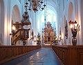 Sankt Petri kyrka, Malmö, interior from entrance.jpg