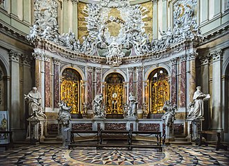 Filippo Parodi - Glory of Saint Anthony by Parodi and assistants, 1689-97 (Basilica of Saint Anthony of Padua)