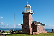 Santa Cruz Lighthouse and Surfing Museum (8321929497).jpg