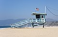Santa Monica – Lifeguard tower (narrow) 2017.jpg