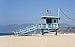 Santa Monica – Lifeguard tower (narrow) 2017.jpg