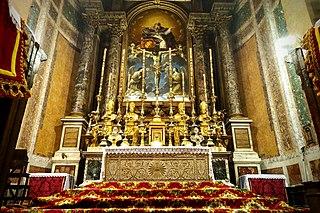 Santissima Trinità dei Pellegrini, Rome Church in Rome, Italy