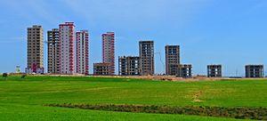 Sarıçam - Image: Sarıçam, new buildings