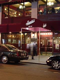 Sardis Restaurant in Manhattan, New York