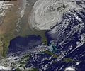 Satellite View of Post-Tropical Cyclone Sandy on Oct. 30 (8138330170).jpg