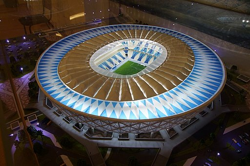 Scale model of Volgograd Arena 01