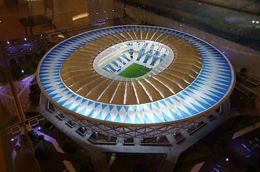 Scale model of Volgograd Arena 01