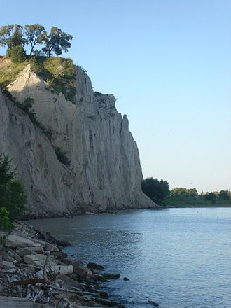 Scarborough, Toronto - The Bluffs from which Scarborough's name is inspired