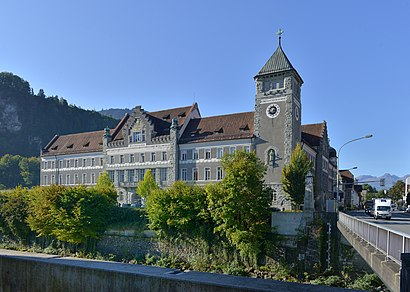 How to get to Landesgericht Feldkirch with public transit - About the place