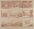 Schouwburg van den oorlog beginnende van koning Karel den II tot op koning Karel den III, Tav. 1 - CBT 6607722.jpg