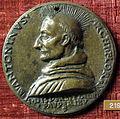 Scuola fiorentina, medaglia di sant'antonino pierozzi, recto.JPG