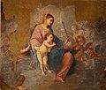 Scuola toscana, madonna in gloria e santi, 1690 ca. 03.jpg
