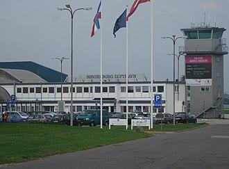 Sønderborg Airport - Image: Sdblufthavn 2