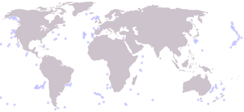 List of submarine volcanoes - Wikipedia