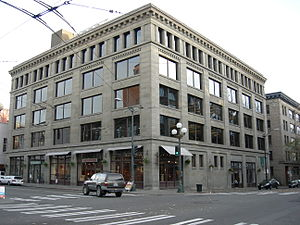 101 S Jackson St in the Pioneer Square neighbo...