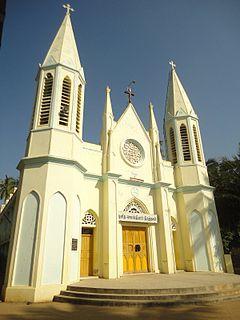 St. Sebastian Church, Papanasam Church in Tamil Nadu, India