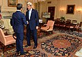 Secretary Kerry Shakes Hands With United Arab Emirates Foreign Minister Abdullah bin Zayed in Washington (28602499386).jpg