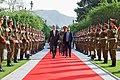 Secretary Kerry Walks Through Honor Guard Prior to Meeting Afghan President Ghani (26233628752).jpg