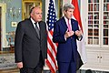 Secretary Kerry and Egyptian Foreign Minister Shoukry Address Reporters Before Their Bilateral Meeting in Washington (25538881833).jpg