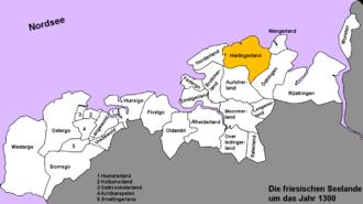 Harlingerland - The Harlingerland around 1300