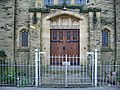 Sefton Road United Reformed Church, Morecambe, Doorway - geograph.org.uk - 716400.jpg