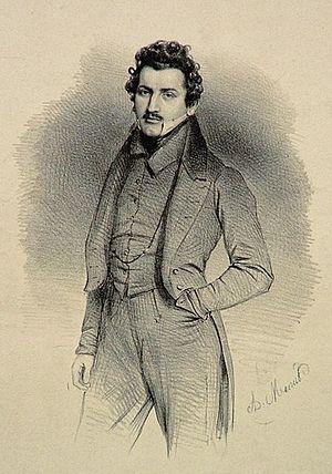 Marie-Alexandre Alophe - Self portrait, 1830