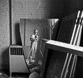 Self portrait of photographer Carol M. Highsmith, via a broken mirror that she photographed during the Willard Hotel restoration. Washington, D.C LCCN2011634801.tif