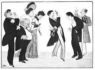 """Robert de Montesquiou - """"Sem impressions of a Montesquiou soirée"""""""
