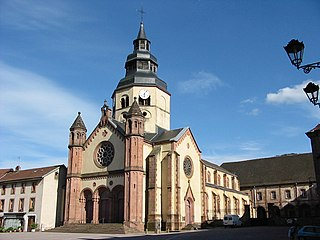Senones Abbey abbey located in Vosges, in France