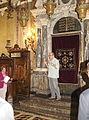 Sephardic Synagogue, interior (Padua).JPG