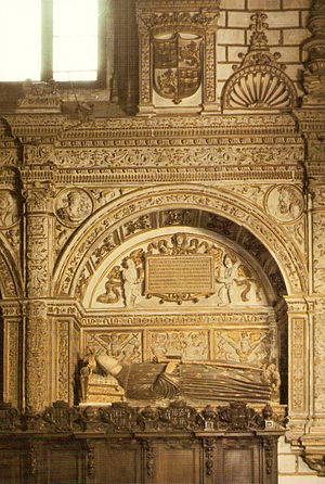Henry III of Castile - The tomb of Henry III of Castile. Chapel of the New Monarchs of Toledo.