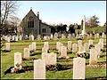 Service Graves, St Andrew's churchyard, Cranwell, Lincolnshire.jpg