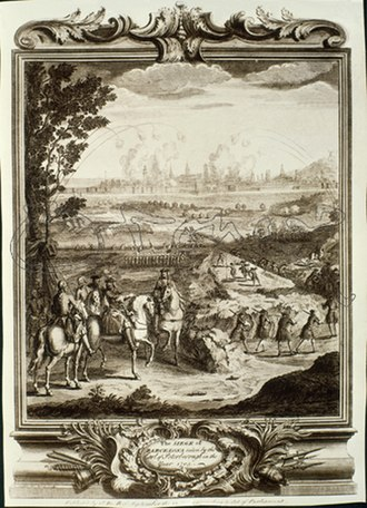 Siege of Barcelona (1705) - Lord Peterborough overseeing the Siege of Barcelona