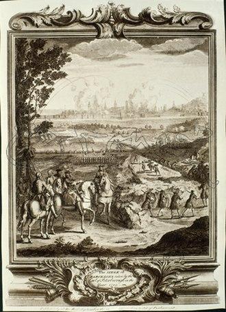 1705 in Spain - Setge de Barcelona de 1705