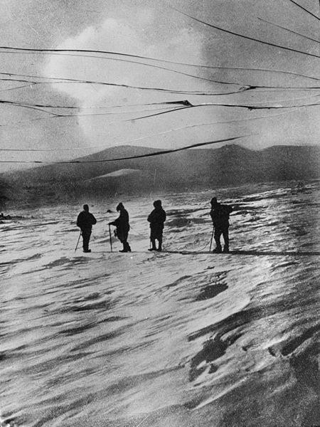 Ernest Shackleton on his South Polar Expedition (1910) – The