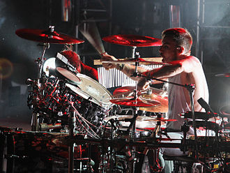 Shannon Leto - Leto performing in Kent, Ohio in October 2010