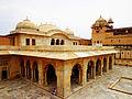 Sheesh Mahal (mirror palace).JPG