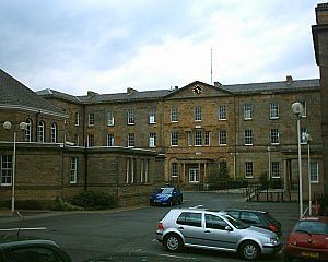 Threads - The Sheffield Royal Infirmary, site of the hospital scene.