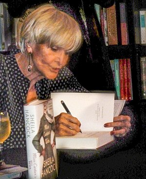 Sheila Hancock - Hancock at a book signing in 2014