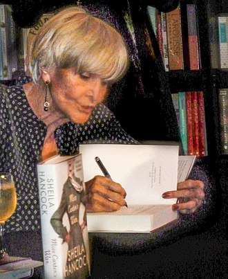 Sheila Hancock - Hancock at a book signing in 2014