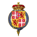 Shield of arms of Arthur Wellesley, 2nd Duke of Wellington, KG, PC.png