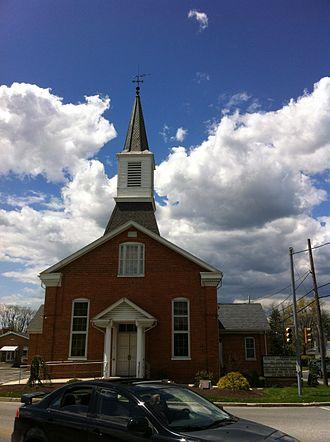 Shiloh, York County, Pennsylvania - Image: Shiloh Lutheran Church