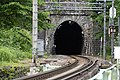 Shimizu Tunnel 清水トンネル South Portal.jpg
