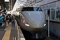 Shinkansen 100 at Okayama (3241961344).jpg