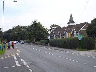 Sholden village in United Kingdom