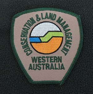 Department of Conservation and Land Management (Western Australia) - Image: Shoulder badge CALM Western Australia Generic Fleece 2005