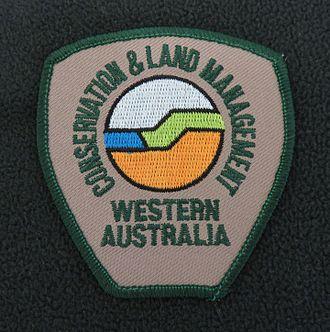 Department of Conservation and Land Management (Western Australia) - Image: Shoulder badge CALM Western Australia Generic Fleece 2005
