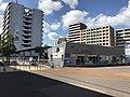 Showa Bus Station in front of Kyudai-Gakkentoshi Station.jpg