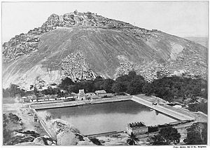 Shravanabelagola - An Old Photograph (c. 1899)